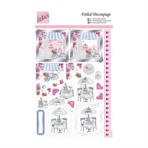 Docrafts Foiled Decoupage - Cake Envy