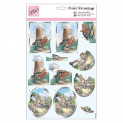Anitas Foiled Decoupage - Country Walks