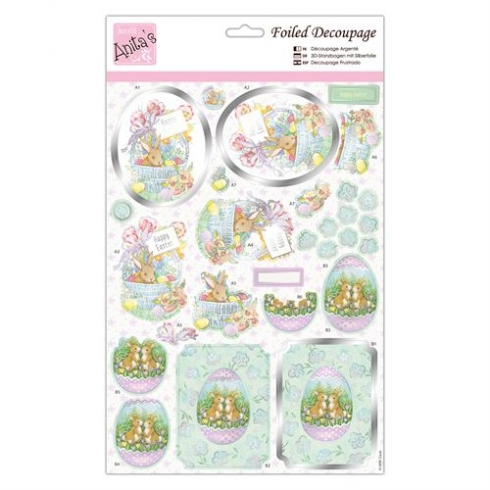 Anitas Foiled Decoupage - Easter Treats