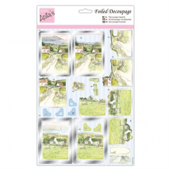 Anitas Foiled Decoupage - Escape to the Country