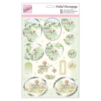 Anitas Foiled Decoupage - Green Fingers