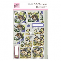 Anitas Foiled Decoupage - In the Garden