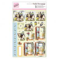 Anitas Foiled Decoupage - Move in