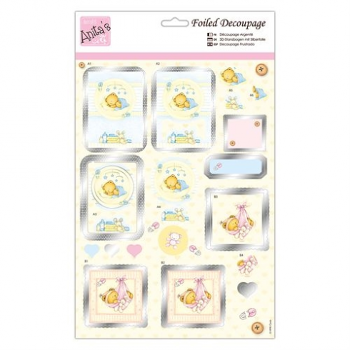 Anitas Foiled Decoupage - New Arrival