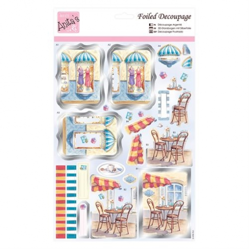 Anitas Foiled Decoupage - On the High Street
