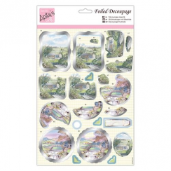 Anitas Foiled Decoupage - Scenic Views