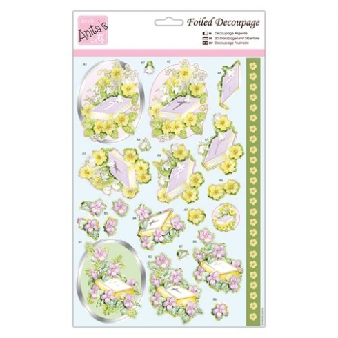Docrafts Foiled Decoupage - Spring Service