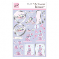 Anitas Foiled Decoupage - Sweets & Treats