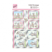 Docrafts Foiled Decoupage - Wishing Well
