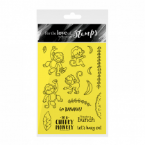 Hunkydory For the Love of Stamps - Cheeky Monkeys