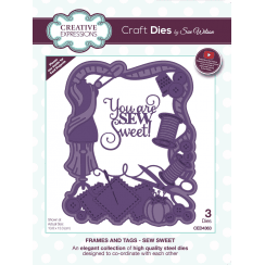 Sue Wilson Frames and Tags Collection Sew Sweet