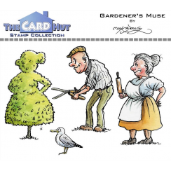 The Card Hut GARDENERS MUSE - STAMP SET