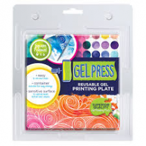 Clarity Gel Press Printing Plate 6 x 6 Inch