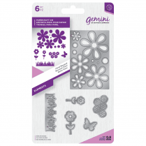 Crafters Companion Gemini Metal Die - Elements - Floral Bouquet