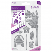 Crafters Companion Gemini Metal Die - Elements - Garden of Seasons
