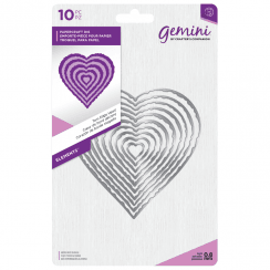Crafters Companion Gemini Metal Die - Elements - Torn Edge Heart