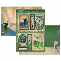 Hunkydory Gentlemans Journey Topper Set - Sporting Moments