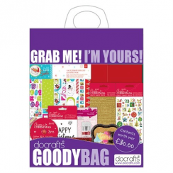 Docrafts Goody Bag - July 2018 - Create Christmas