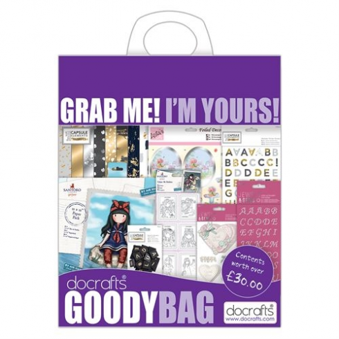 Docrafts Goody Bag - May 2017