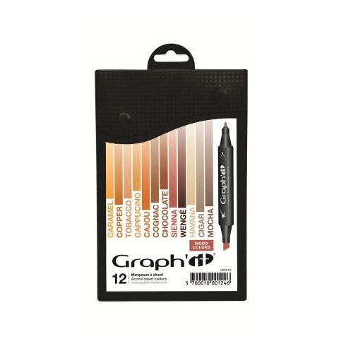 Graph it graph it alcohol based markers wood graph it for Markers for wood crafts