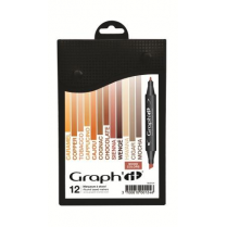 Graph It Alcohol Based Markers - Wood