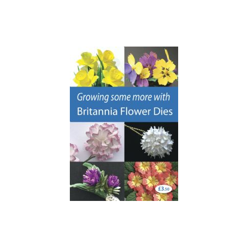 Britannia Dies Growing Some More With Britannia Flower Dies Book