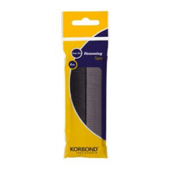 Korbond Hemming Tape Black and Grey 6m