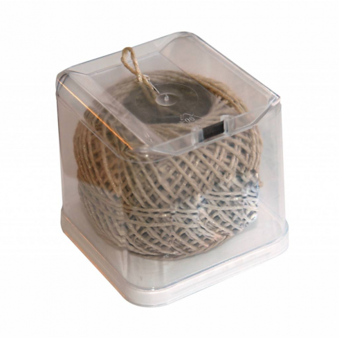 Kangaro Hemp Rope 40M in Plastic Cube