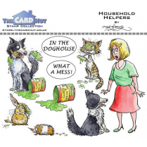 The Card Hut HOUSEHOLD HELPERS - STAMP SET