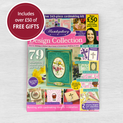 Hunkydory Design Collection Box Magazine Issue 1 From