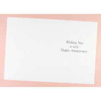 Craft Creations Inserts to fit 150x203mm Cards - Happy Anniversary (Wishing You)