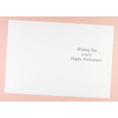 Craft Creations Inserts To Fit 150x203mm Cards   Happy Anniversary (Wishing  You)