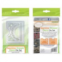Tonic Studios Jasmine Drawer Deco Die Set