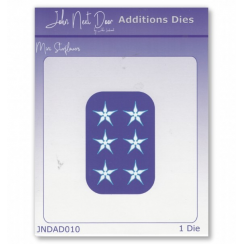 John Next Door Additions Dies - Mini Starflowers
