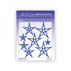 John Next Door Additions Dies - Starflowers (8pcs)