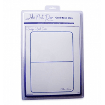John Next Door Card Base Dies - Rectangle Round Corner