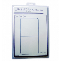 John Next Door Card Base Dies - Square Round Corner