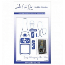 John Next Door Card Die Collection - Champagne Bottle