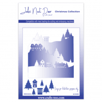 John Next Door Christmas Dies - Snow Scenes (10pcs)