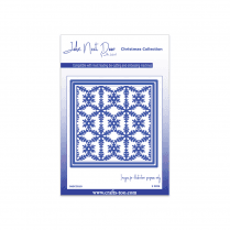 John Next Door Christmas Dies - Snowflake Square (3pcs)