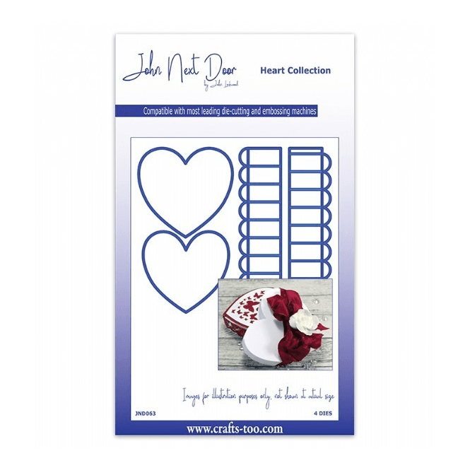 John Next Door Heart Collection - Heart Box