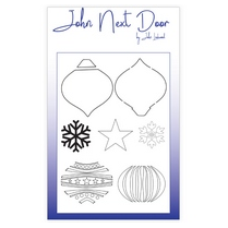John Next Door Mask Stencil - Bauble Swirls
