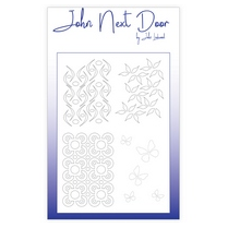 John Next Door Mask Stencil - Quatro Flourishes