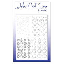 John Next Door Mask Stencil - Quatro Snow