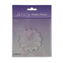 John Next Door Media Plate - Flower