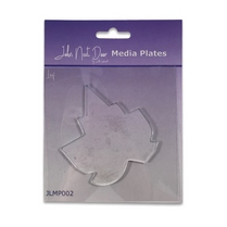 John Next Door Media Plate - Leaf