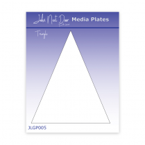 John Next Door Media Plate - Triangle