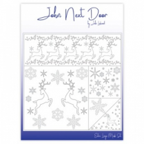 John Next Door XL Mask Set - Christmas