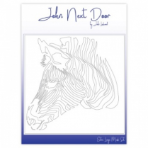 John Next Door XL Mask Set - Zebra