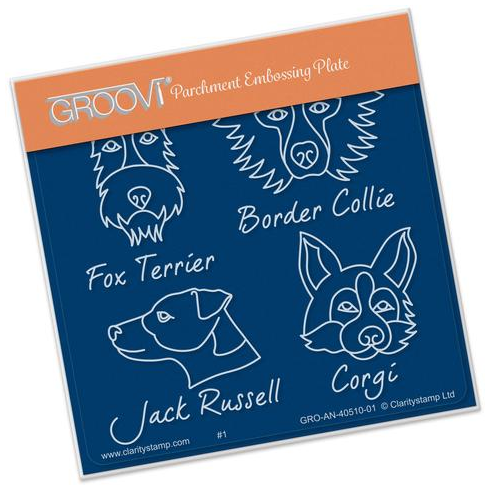 Kennel Club - Dog Breeds Groovi Baby Plate A6